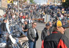 Port Dover, Ontario Friday the 13th bike rally.  The best rally ever!!!