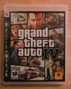 Grand Theft Auto IV (Sony PlayStation 3, 2008)