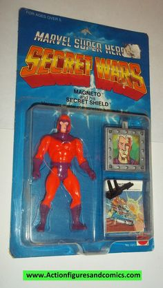 secret wars MAGNETO vintage 1984 mattel moc action figures x-men marvel super heroes Secret Wars, Old School Toys, The Uncanny, Toy Rooms, Classic Comics, Old Toys, The Good Old Days, Toy Store, Toys