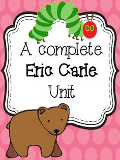 This is an amazing unit! I can't wait to use it next year!! Eric Carle {A complete Author Study}