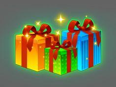 Gifts game icon by Inga November
