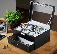3 Sections Watch and Cufflink Box for 10 Watches With 2 Keys Black  http://www.ebay.co.uk/itm/3-Sections-Watch-and-Cufflink-Box-for-10-Watches-With-2-Keys-Black-/252616841938?hash=item3ad1231ad2:g:NGAAAOSwx2dYGagZ  Here Is a  Deal That you can Get ! Visit  Us  Right Now For the best  Bargains
