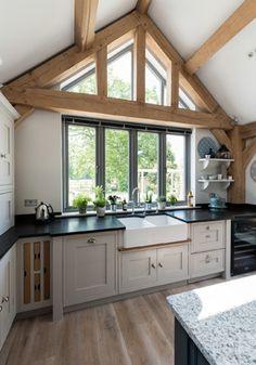 Border Oak - Single Storey Kitchen