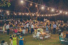 Um casamento em Campo Belo ao ar livre, durante o dia, cheio de detalhes fofos e DIY. Para inspirar todas que amam casamento no campo.