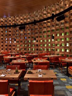 Restaurant At The Mgm Grand Hotel Las Vegas Designed By Rockwell Group