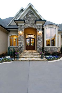 1000 Ideas About Stone Exterior Houses On Pinterest Stone Exterior Houses And Copper Gutters