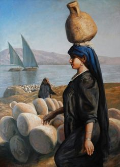10 Genius Beauty Hacks Every Girl Should Know. Egyptian Drawings, Ancient Egyptian Art, Old Egypt, Egypt Art, Arabian Art, Painter Artist, Turkish Art, Acrylic Art, Portrait Art