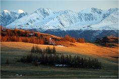 Краски уходящего дня, Алтай
