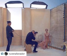 Image by @ruvenafanador #BehindTheScenes while photographing the beautiful…