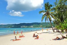 #Phuket: A great of small town charm and beautiful #beaches...   Bang Tao Surin Beach Mai Khao Banana Rock Beach Coral and Racha Islands