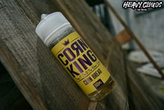 Corn King by Kings Crest. Subtle hints of flaky corn bread, honey, and butter.  #cornking #kingscrest  #eliquids #shortfills #cornking #heavyclouds #heavycloudsvapeshop #heavycloudsathens #greekvapers #vape #vaping #vapelyfe #vapeporn #vapelove #heavycloudsgr #vapers #vapenation #vapefamily #rda #clouds Corn Bread, Vape Shop, Vaping, Athens, Honey, Butter, Clouds, Millet Bread, Electronic Cigarette