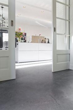 Betonlook wanden, beton cire wanden - Willem designvloeren
