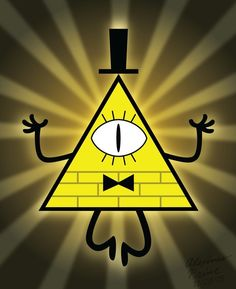 bill cipher (gravity falls) by goncastorena Gravity Falls Dipper, Gravity Falls Bill Cipher, Gravity Falls Art, Bill From Gravity Falls, Low Gravity, Desenhos Halloween, Gravity Falls Characters, Cartoon Caracters, Desenhos Gravity Falls
