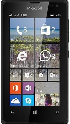 MICROSOFT LUMIA 435 T-MOBILE PHONE BLACK