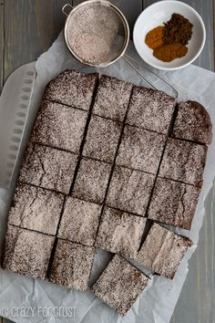 Mexican Brownies: super rich and fudgy with a little spicy kick!