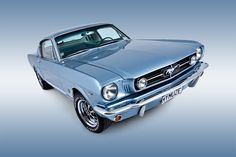 1965 Ford Mustang – Blue Collar Performer – 253 #dreamcar