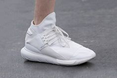 A First Look at the Y-3 2016 Spring Summer Footwear Collection. Adidas  SneakersWhite ... 644e1008244b