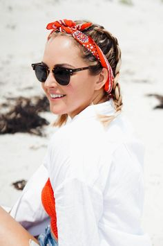 f50f39cf6a5 5 Ways To Wear A Bandana Scarf In Your Hair
