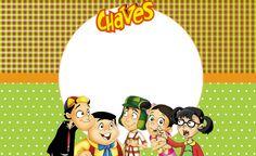 Chaves – Kit festa infantil grátis para imprimir – Inspire sua Festa ® Zine, Mickey Mouse, Digital, Disney Characters, Party, Erika, Blog, Brunch, School