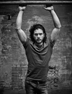 Kit Harrington... game of thrones