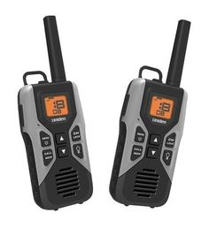 UN-GMR3050-2C 30 Mile FRS 2 Pack with Charge Cable by Uniden. 30 Mile Two-Way Radio Twin Pack with Charge CableChannel scan/monitor allows you to easily scan all 22 channels and listen for weak signals on the current channel at the press of a keyFrequency: GMRS/FRSNumber of Channels: 22Privacy Codes: 121Range: up to 30 milesNumber of Radios Included: 2Backlit LCD display10 Call tonesVOX headset jackSilent modeAuto squelchBattery strength meterKeypad lockPower Source: 3 rechargeable nickel…