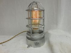 "Vintage Industrial Look Explosion Proof ""Touch"" Desk Lamp Steampunk Light"