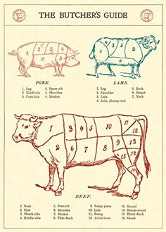 Cavallini Butchers Guide Wrapping Paper Cavallini Papers & Co http://www.amazon.co.uk/dp/1619926806/ref=cm_sw_r_pi_dp_4ltPwb05S8X7G