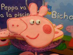 .: Galletas Peppa pig decoradas con glasa real