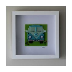 Framed Campervan Picture - Propositum Glass