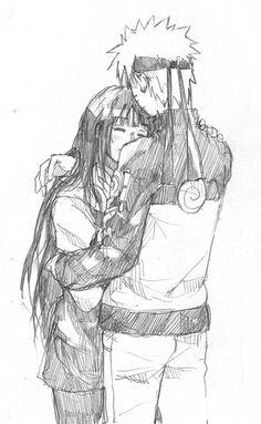 Naruto and Hinata. Make things happen Japan!