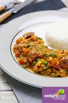 Lentil & Chorizo Stew. #HealthyRecipes #DietRecipes #WeightLossRecipes weightloss.com.au