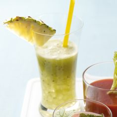 Kiwi-ananasdrankje #telvrij #PowerStart #WeightWatchers #WWrecept