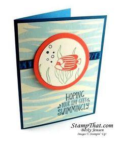 Stampin' Up! Seaside Shore Stamp Set - Handmade Card Class