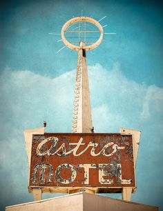 Astro Motel by Shakes The Clown, via Flickr