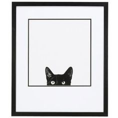 Curiosity Framed Print - Gifts for Life's Special Moments – Personalized, Humorous & Collectible Gifts For Pet Lovers, Cat Gifts, Gift For Lover, Cat Lovers, Hug Your Cat Day, Personalized Wall Art, Cute Gif, Crazy Cats, Toys