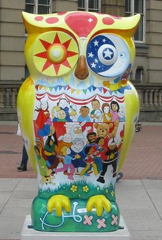 Our Happy Hospit Owl - Chamberlain Square