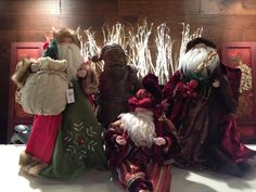 On the first day of Christmas Starr Home gave to me.. A Santa sitting in a Christmas tree! All Santas 20% off Dec. 1st!