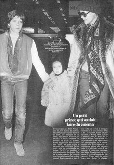 Romy Schneider Daughter   Romy Schneider Romy, david and daughter sarah