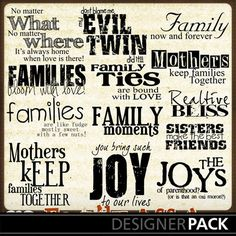 Variety of Family Quotes 4