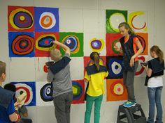 Mural Idea: Eagle Art: Art Club Mural
