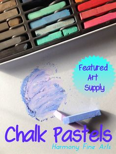 Chalk Pastels Art Supply @harmonyfinearts