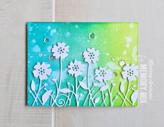 Hello paper crafting friends! I have a colorful card to share with you today, using more of the fabulous Spring release! As you know, I love ink blending, and bold color, so obviously, that is what yo