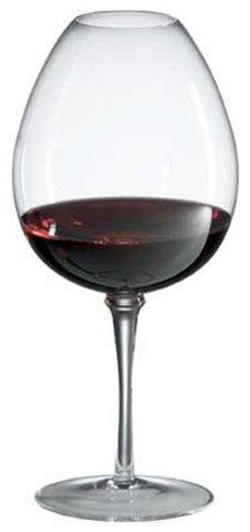 Amplifier Red Wine Glass