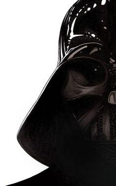 Well-illustrated Darth Vader.