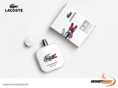MONEYBACK MEXICO. Celebrate the passion for the game with new limited edition fragrance, Eau de Lacoste Energized. Unfolding with pulsing energy and fiery intensity, this dynamic scent is a tribute to Lacoste's sporting heritage and passion for the game. Shop in any Lacoste shop in Mexico and get a Moneyback tax refund! #moneyback www.moneyback.mx