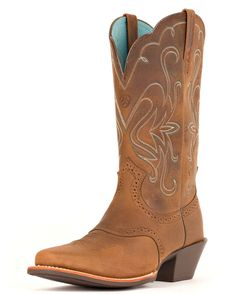 Ariat's Legend Boot in Distressed Brown is perfect for summer concerts and festivals.   http://www.countryoutfitter.com/products/28219-womens-legend-boot-distressed-brown