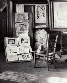 Picasso's Studio by Brassai