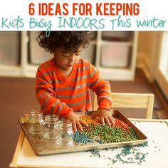 Ideas For Keeping Kids Busy INDOORS This Winter #howdoesshe #indooractivities #winteractivities #ideasforkids #indoorideas howdoeshe.com