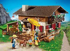 BNIB Playmobil 5422 ALPINE LODGE - LIMITED STOCK! #Playmobil