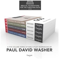 """Knowing the Living God is the first book in Paul David Washer's """"Biblical Foundations for the Christian Faith"""" series of workbooks by Media Gratiae. (288 pages)"""